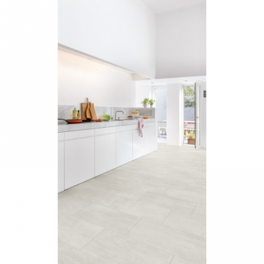 AMCL40049 Light Concrete Quick-Step Vinyl Padló