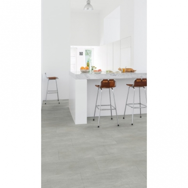 AMCL40050 Warm Grey Concrete Quick-Step Vinyl Padló
