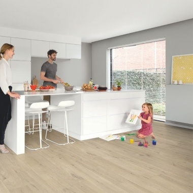 AVMP40103 QUICKSTEP COTTON OAK BEIGE - ALPHA VINYL